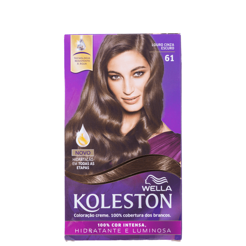 Koleston 61 Louro Cinza Escuro - Coloração Permanente