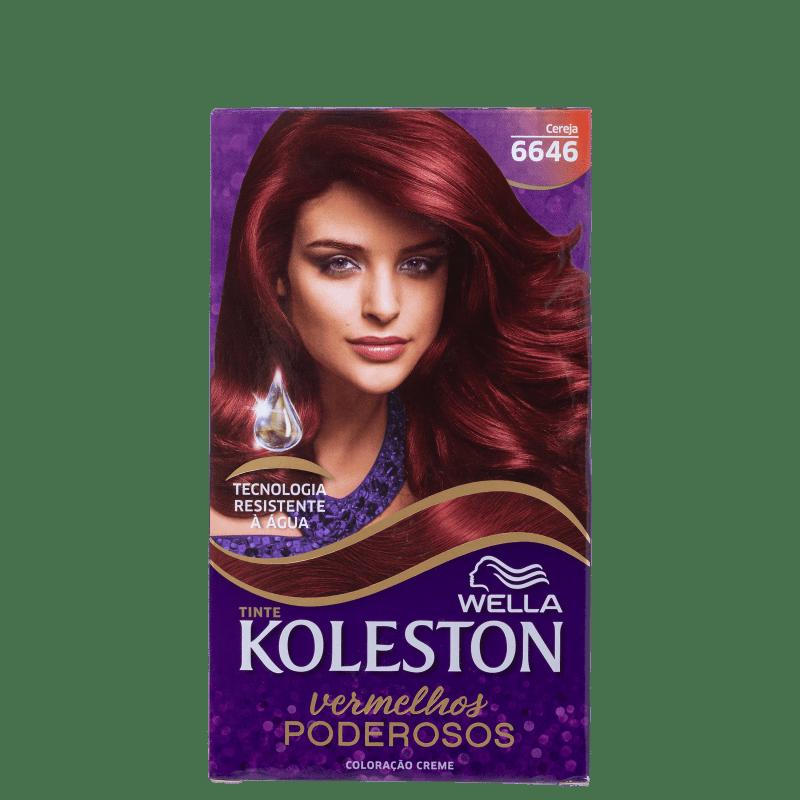 Koleston 6646 Cereja - Coloração Permanente