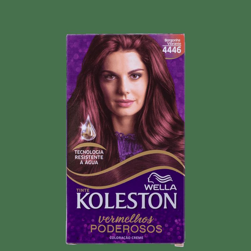 Koleston 4446 Borgonha Vibrante - Coloração Permanente