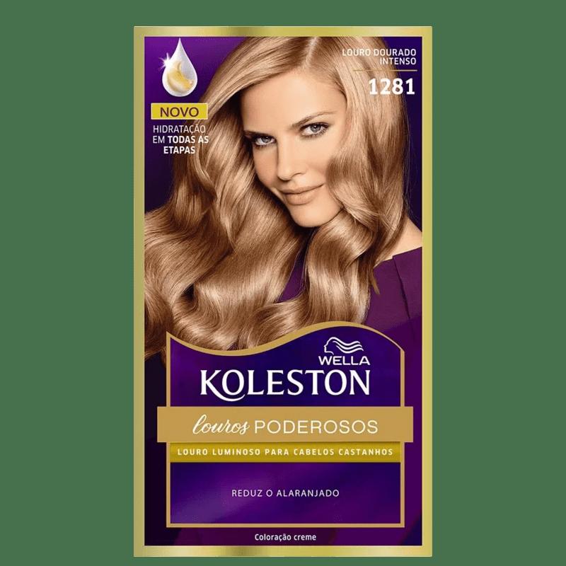 Koleston 1281 Louro Dourado - Coloração Permanente