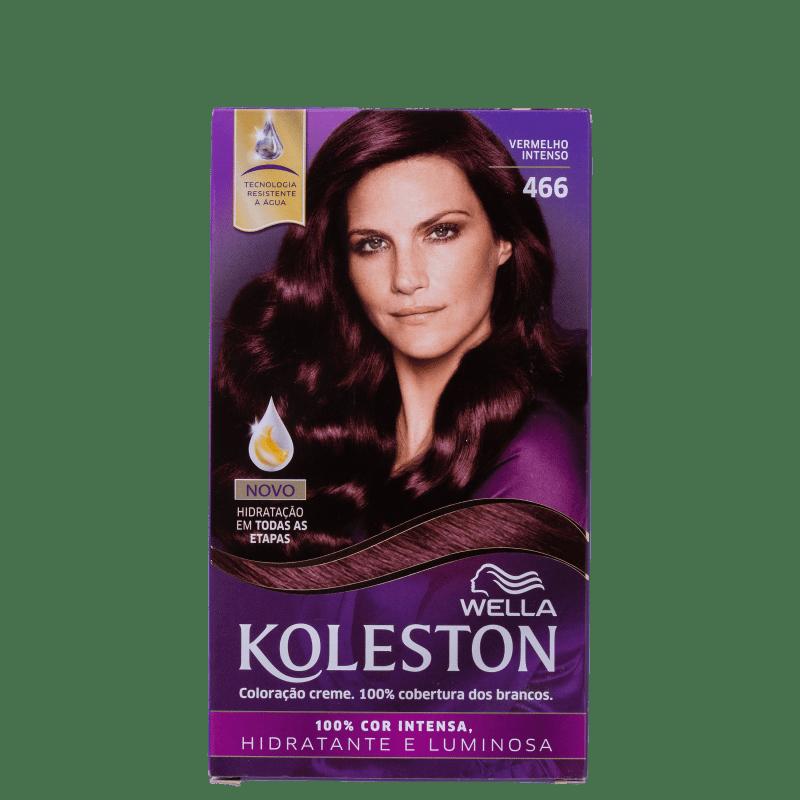 Koleston 466 Vermelho Intenso - Coloração Permanente