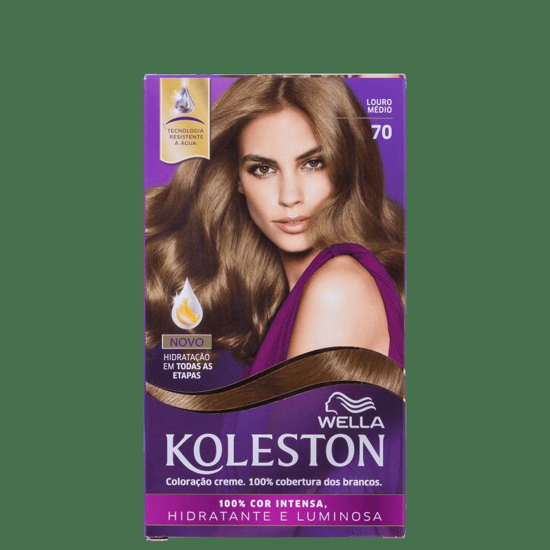 Koleston 70 Louro Médio - Coloração Permanente