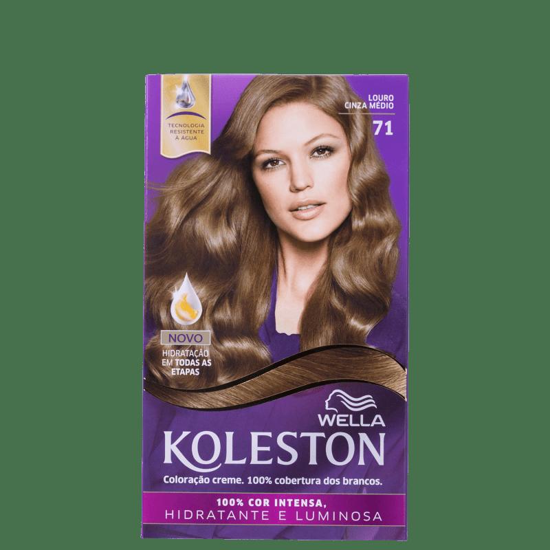 Koleston 71 Louro Cinza Médio - Coloração Permanente