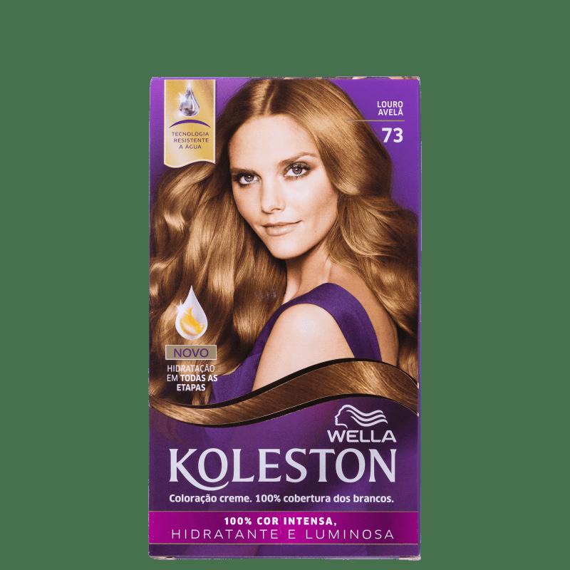 Koleston 73 Louro Avelã - Coloração Permanente