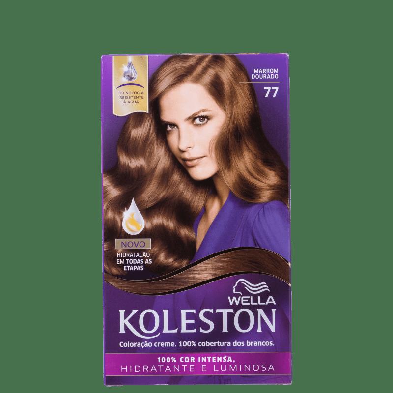Koleston 77 Marrom Dourado - Coloração Permanente