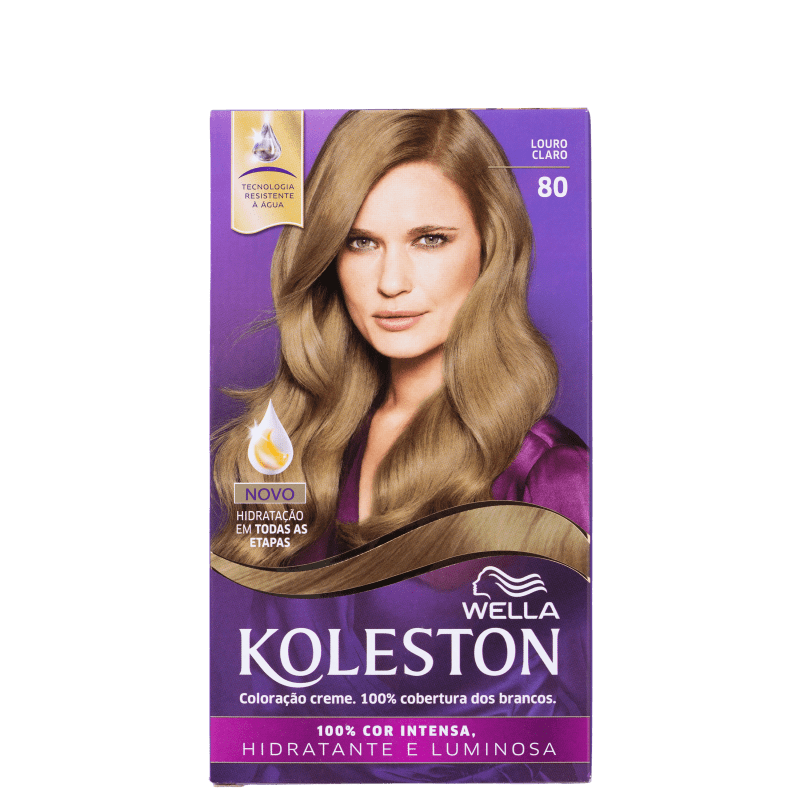 Koleston 80 Louro Claro - Coloração Permanente