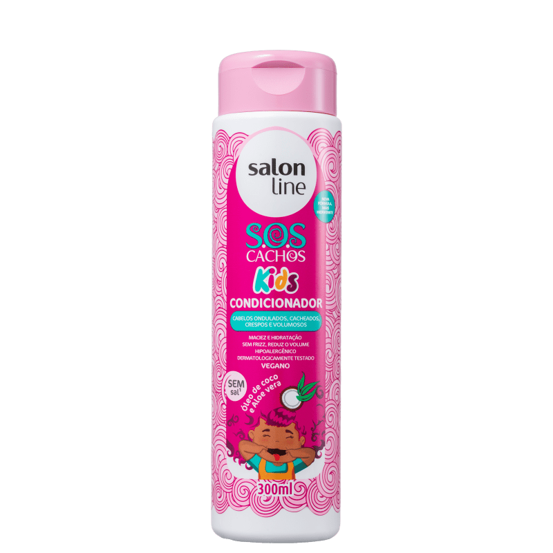 Salon Line S.O.S Cachos Kids - Condicionador 300ml