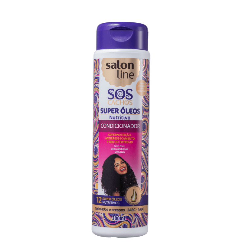 Salon Line S.O.S Cachos Super Óleos - Condicionador 300ml