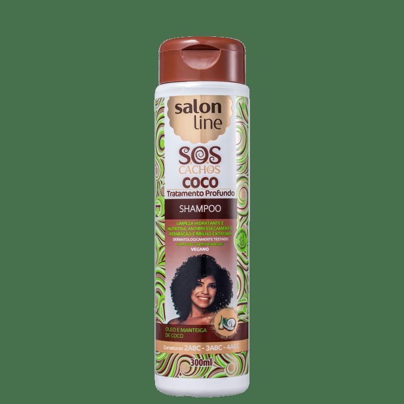 Salon Line S.O.S Cachos Coco - Shampoo 300ml