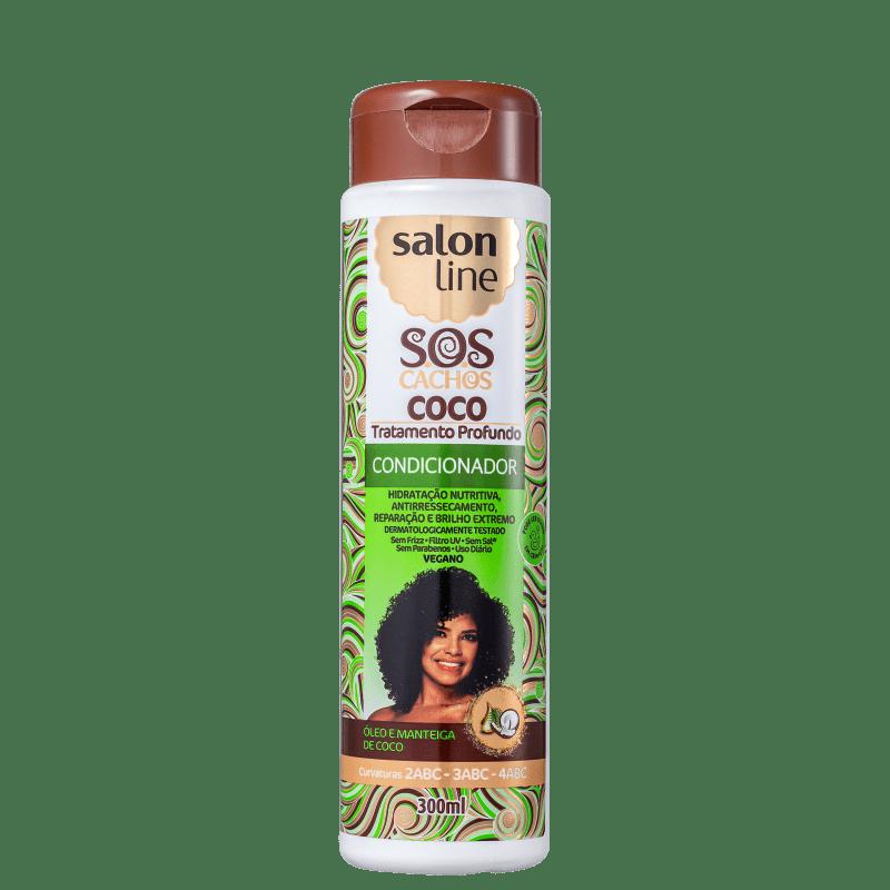 Salon Line S.O.S Cachos Coco - Condicionador 300ml