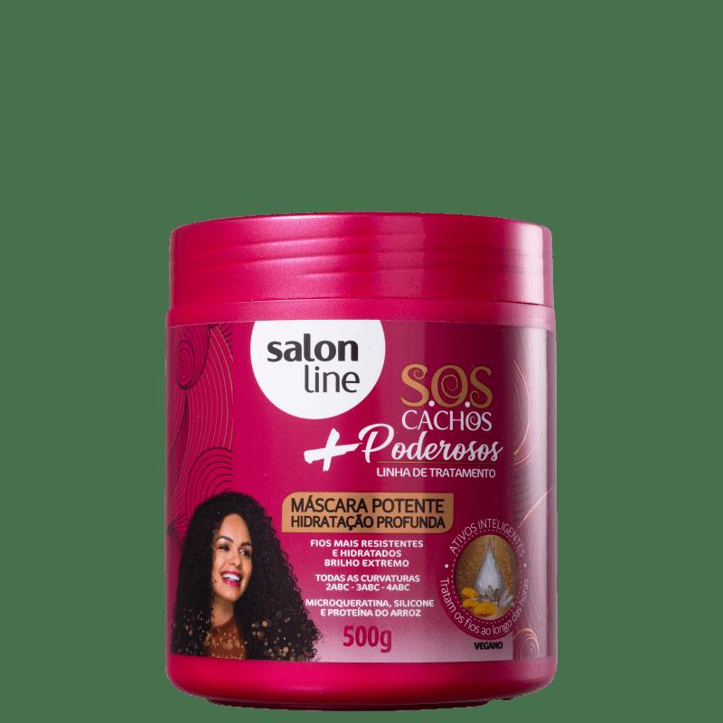 Salon Line S.O.S Cachos + Poderosos - Máscara Capilar 500g