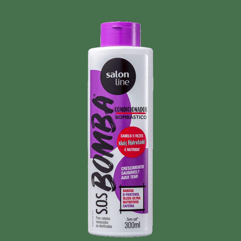 Salon Line S.O.S Bomba Bombástico - Condicionador 300ml