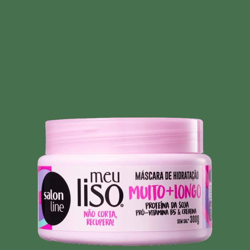 Salon Line Meu Liso Muito+Longo - Máscara Capilar 300g