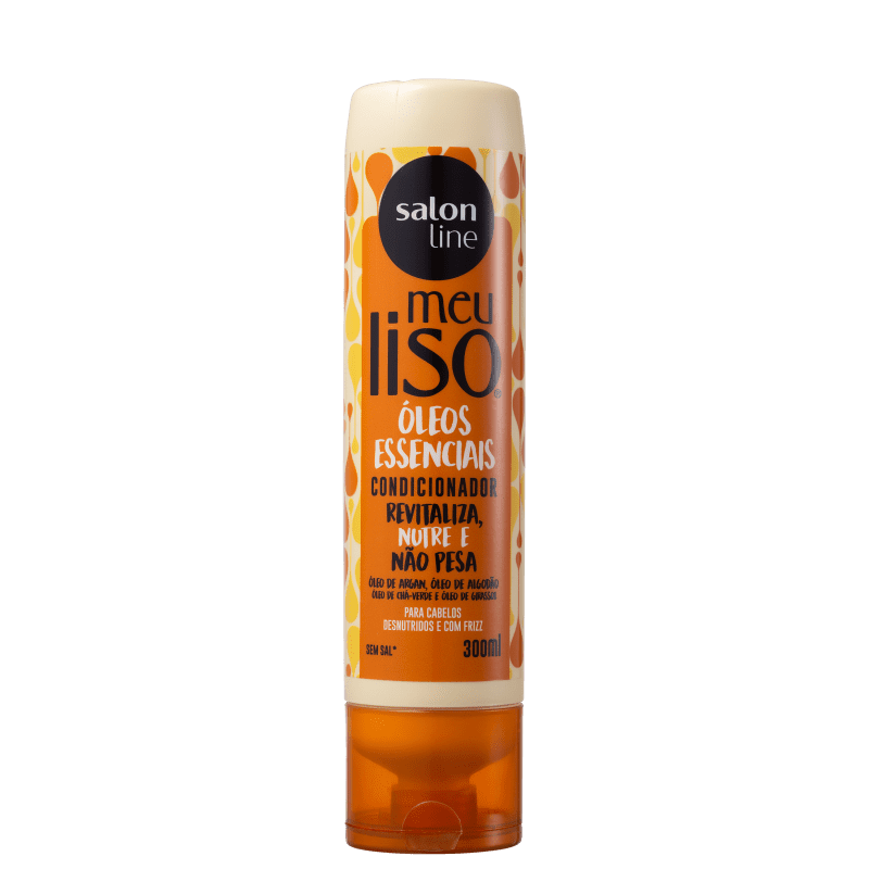Salon Line Meu Liso Óleos Essenciais - Condicionador 300ml
