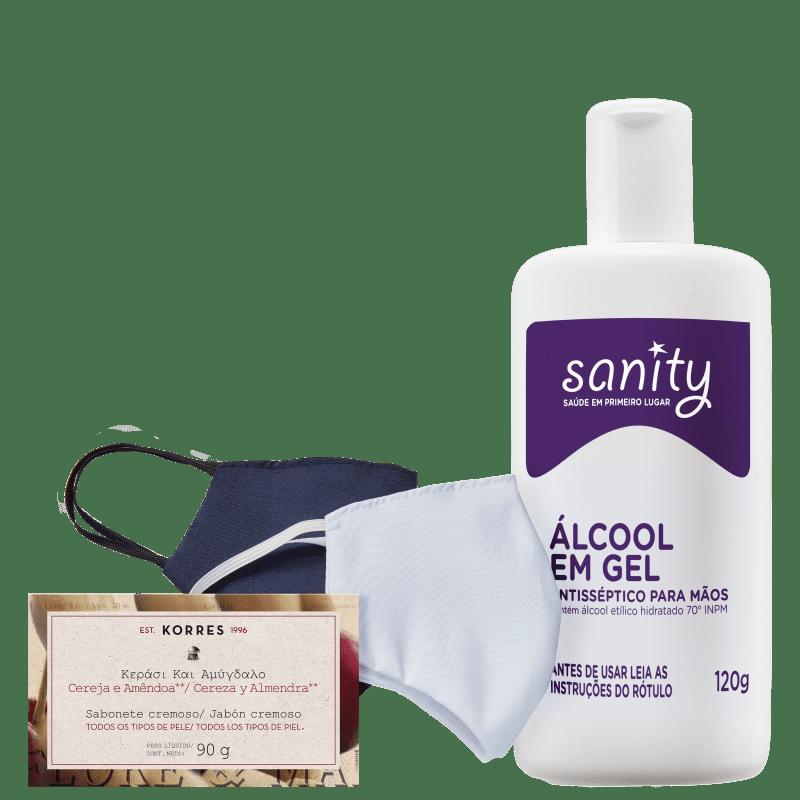 Kit Sanity Cuidados (3 Produtos)
