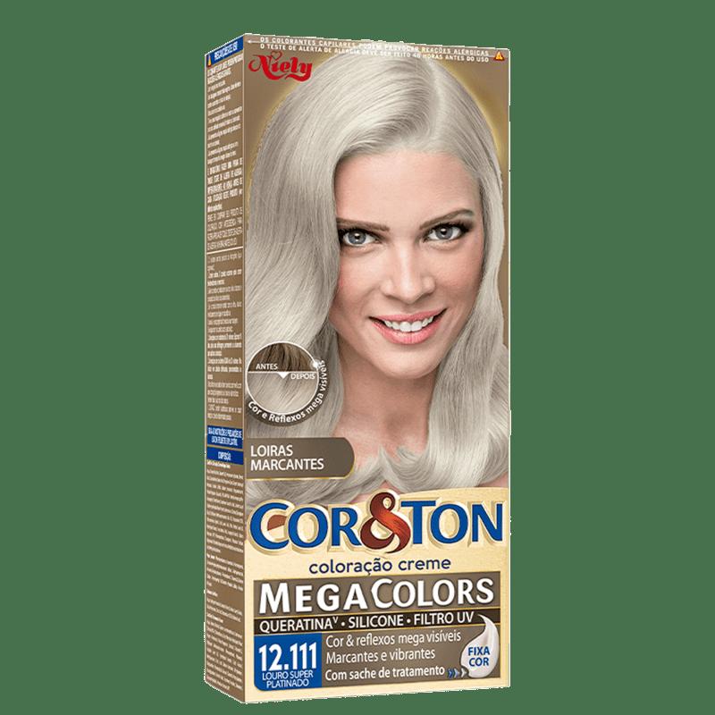 Niely Cosméticos Cor & Ton 12.111 Louro Super Platinado - Coloração Permanente