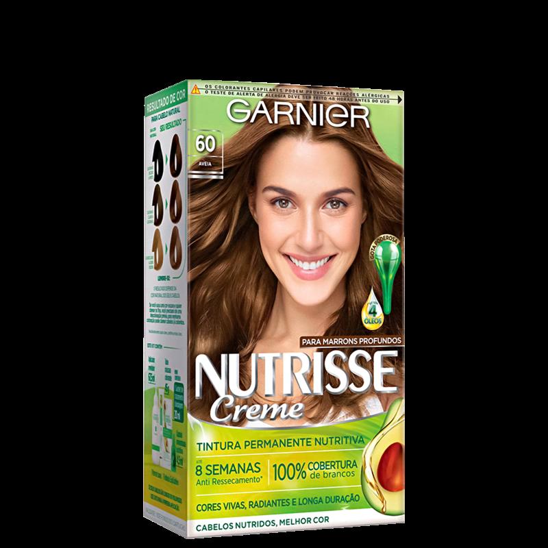 Garnier Nutrisse Creme 60 Aveia - Coloração