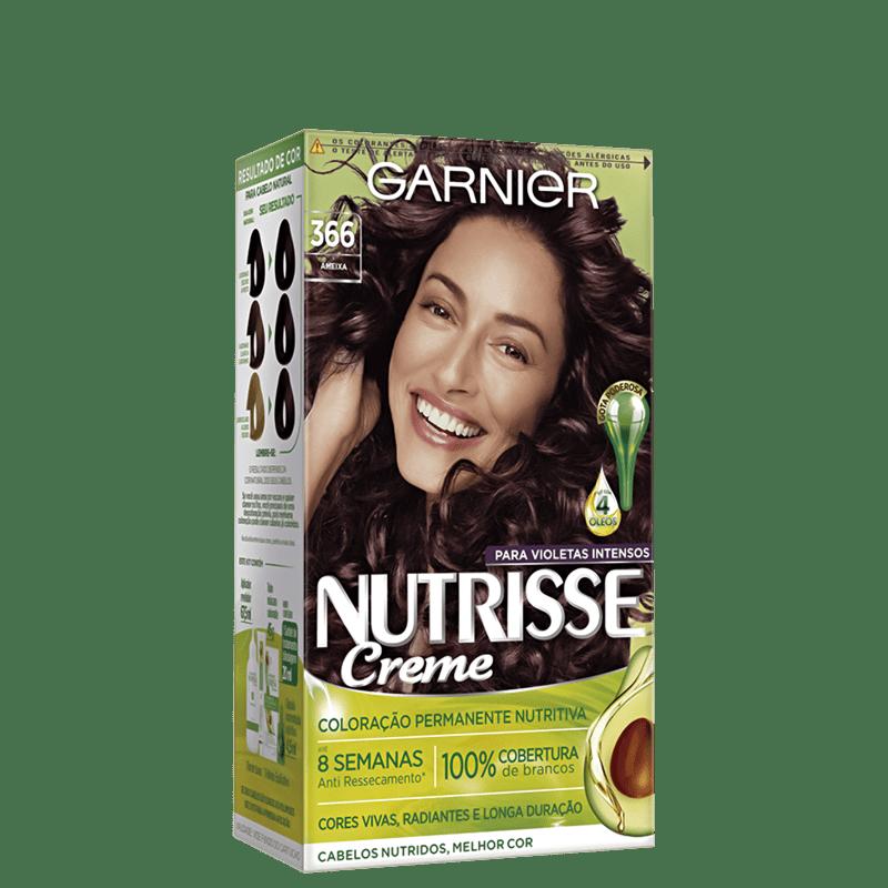 Garnier Nutrisse Creme 366 Acaju Purpura - Coloração