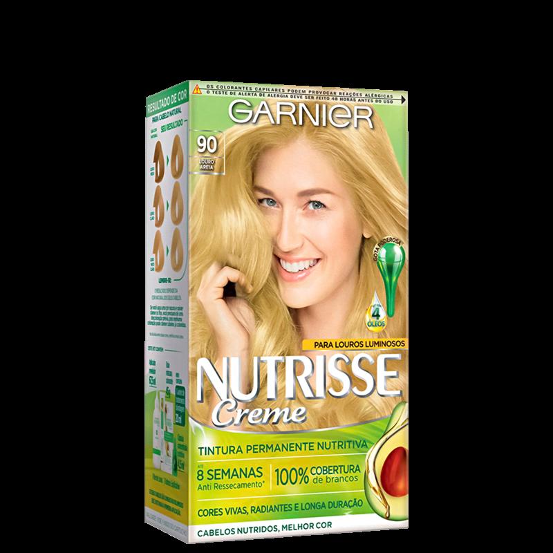 Garnier Nutrisse Creme 90 Areia - Coloração