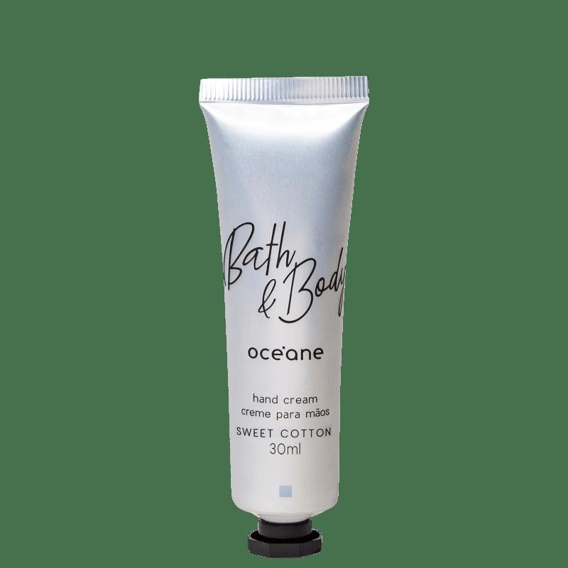 Océane Bath & Body Sweet Cotton - Creme Hidratante para as Mãos 30ml