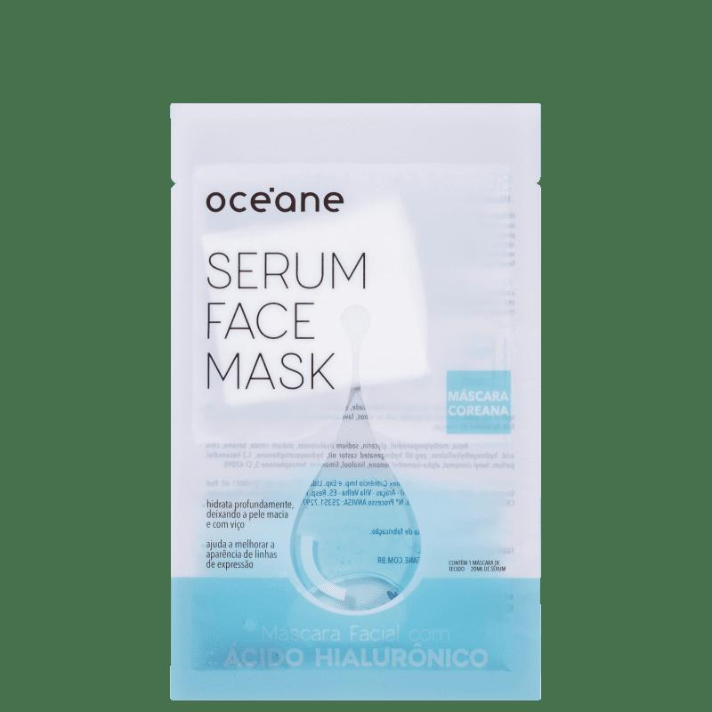 Océane Serum Face Mask Ácido Hialurônico - Máscara Facial 20ml