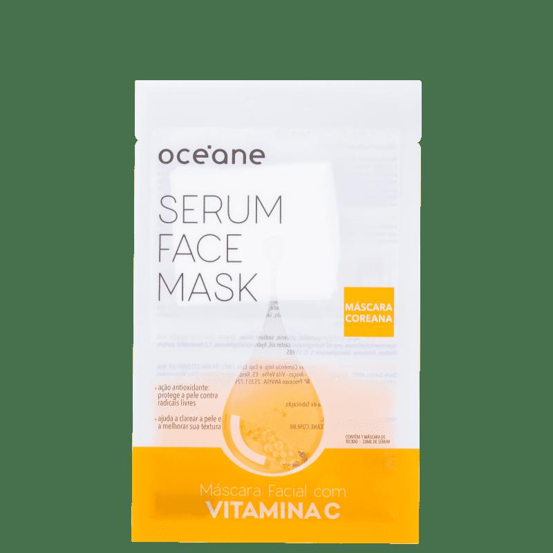 Máscara Facial Océane Serum Face Mask Vitamina C