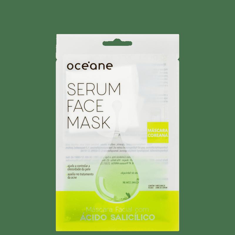 Máscara Facial Océane Serum Face Mask Ácido Salicílico
