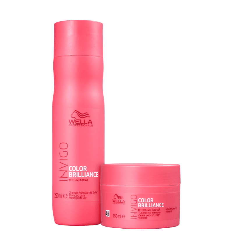 Kit Wella Professionals Invigo Color Brilliance (2 Produtos)