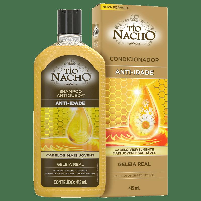 Kit Tío Nacho Antiqueda Anti-Idade (2 Produtos)
