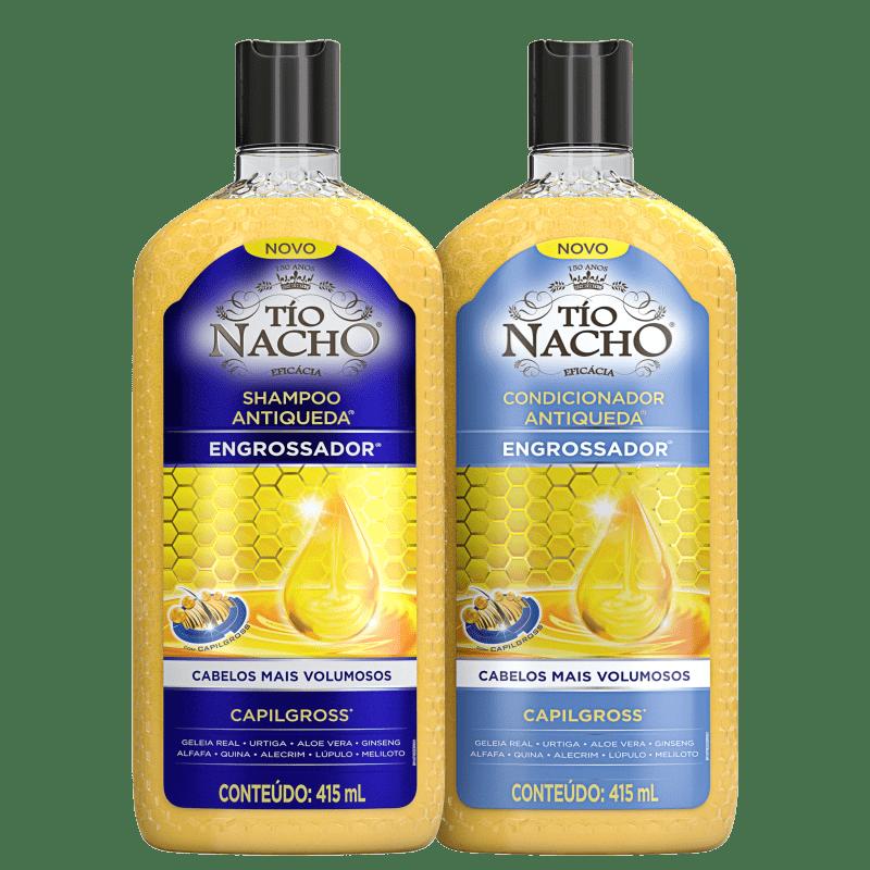 Kit Tío Nacho Antiqueda Engrossador (2 Produtos)