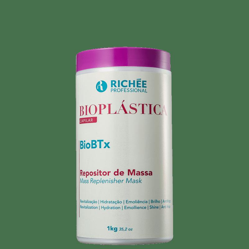 Richée Professional Bioplástica BioBTx - Repositor de Massa Capilar 1000g