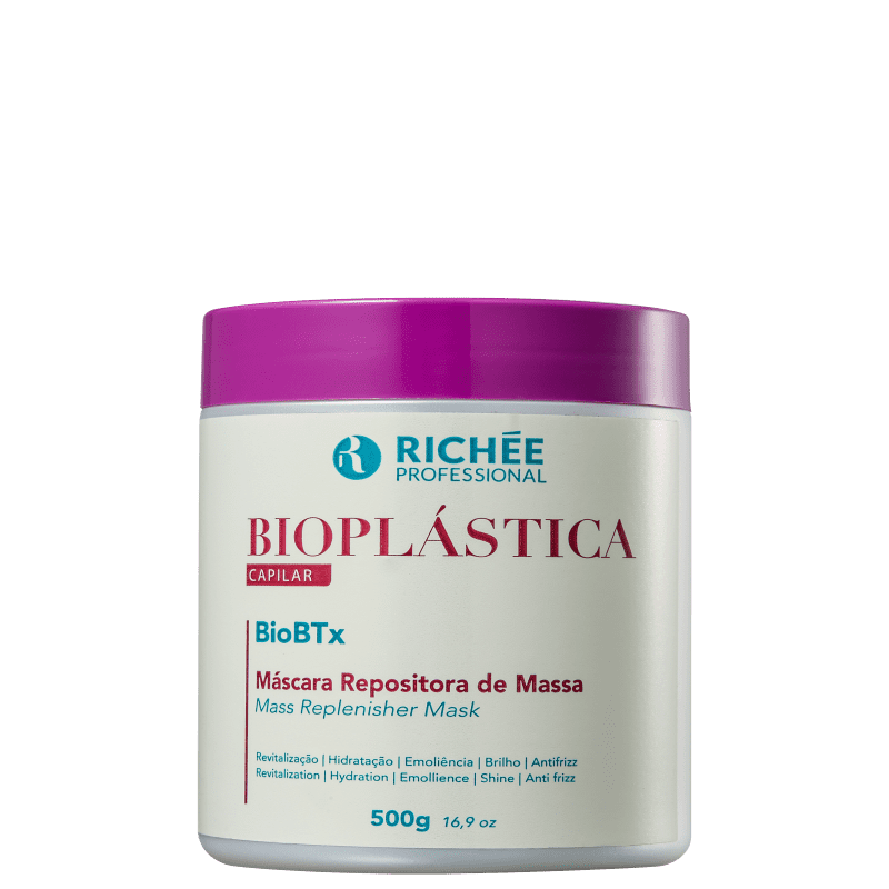 Richée Professional Bioplástica BioBTx - Repositor de Massa Capilar 500g
