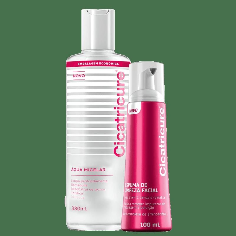 Kit Cicatricure Limpeza Facial (2 Produtos)