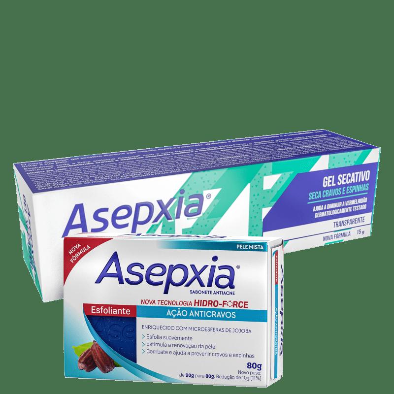 Kit Asepxia Anticravos + Antiacne (2 Produtos)