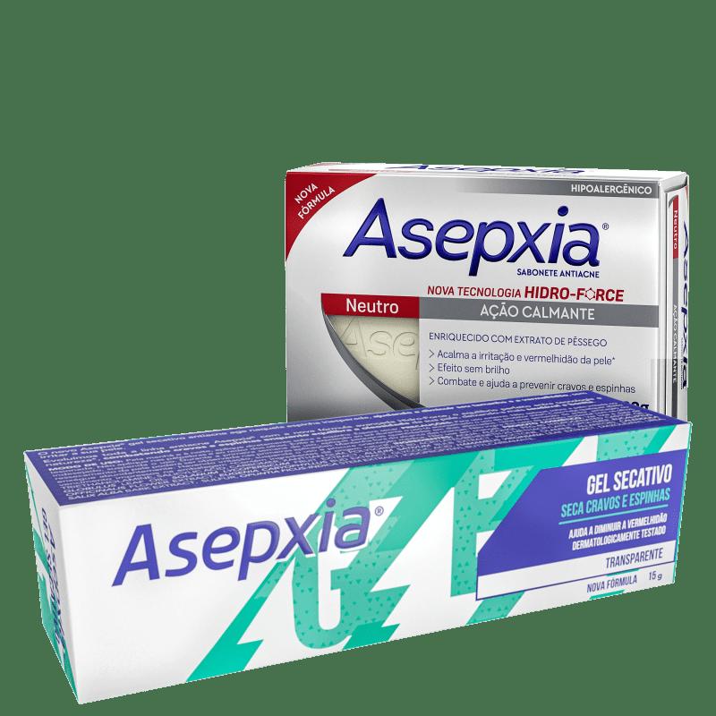 Kit Asepxia Antiacne (2 Produtos)