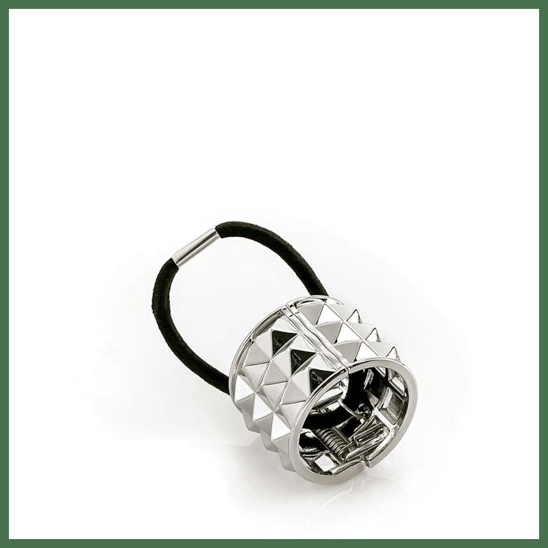 Beautybox Ring Spikes Prata - Elástico de Cabelo