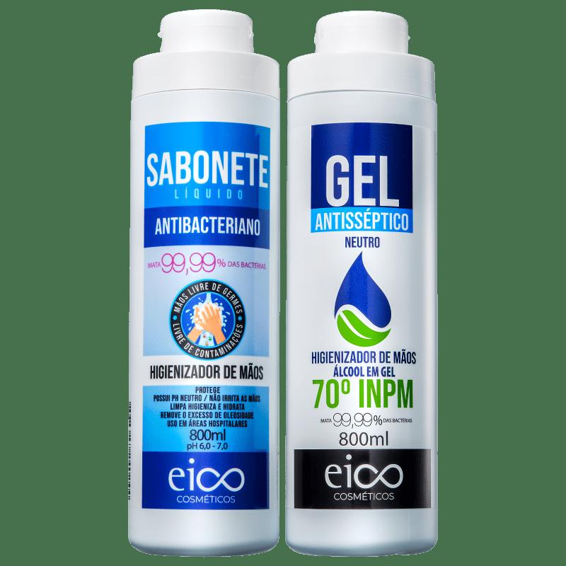 Kit Eico Antibacteriano Plus (2 Produtos)