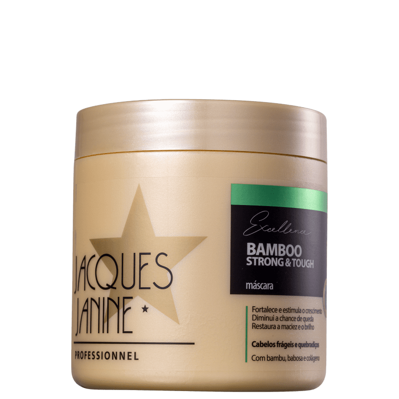 Jacques Janine Professionnel Excellence Bamboo Strong & Tough - Máscara Capilar 500g