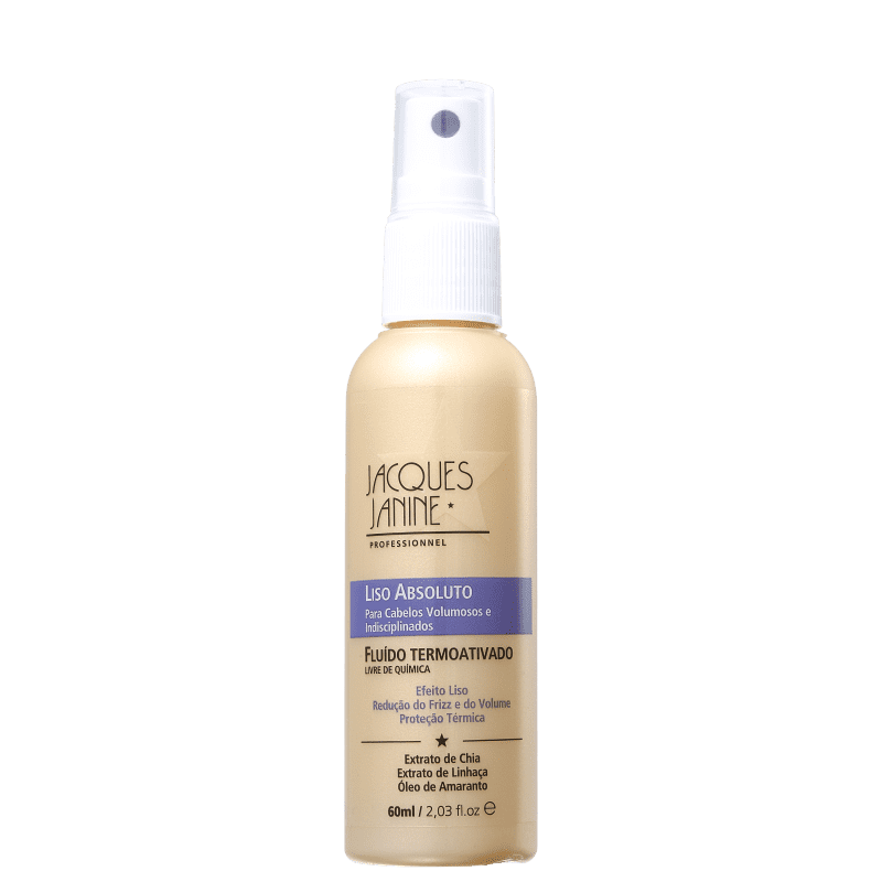 Jacques Janine Professionnel Liso Absoluto - Spray Leave-in Termoativo 60ml