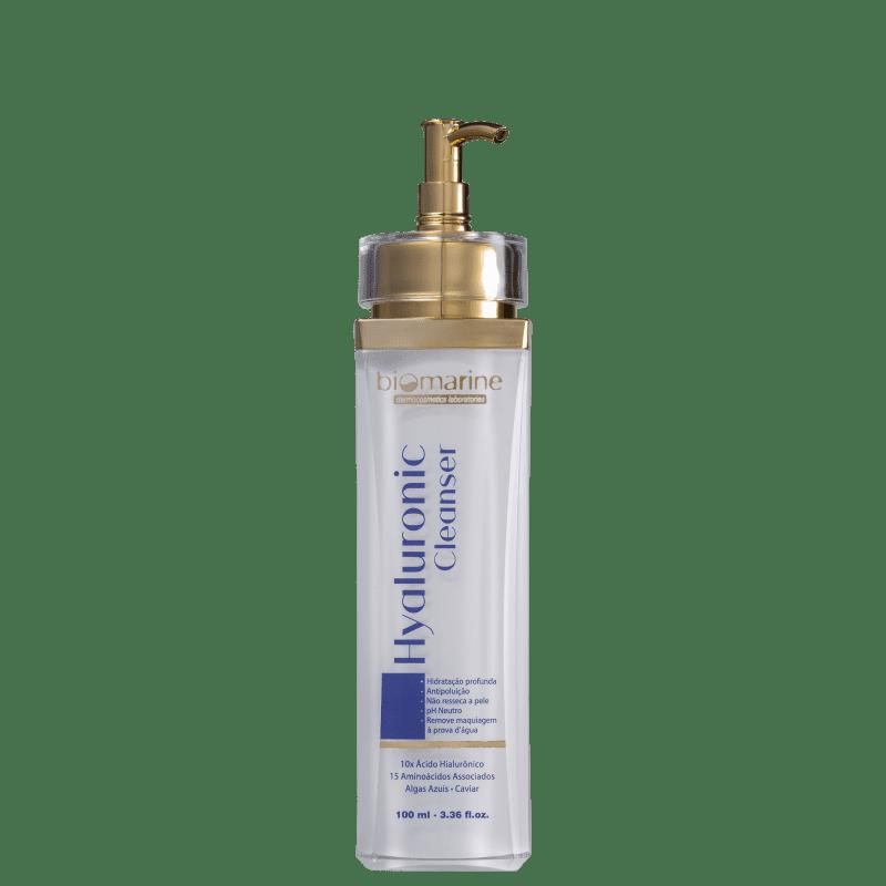 Biomarine Hyaluronic Cleanser - Sabonete Líquido Facial 100ml