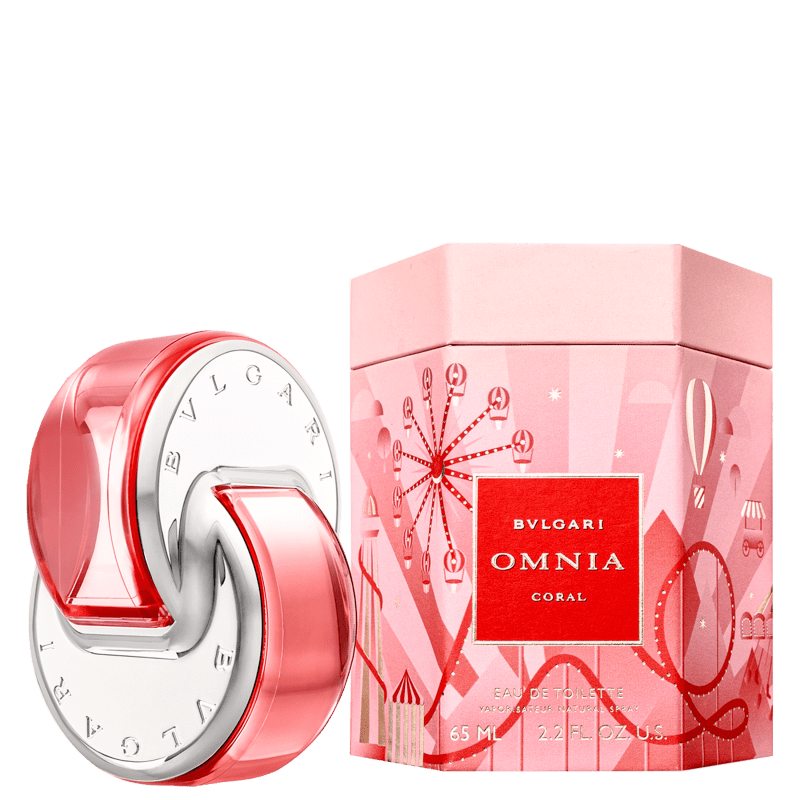 Perfume Omnia Coral Omnialand BVLGARI Feminino Eau de Toilette 65ml