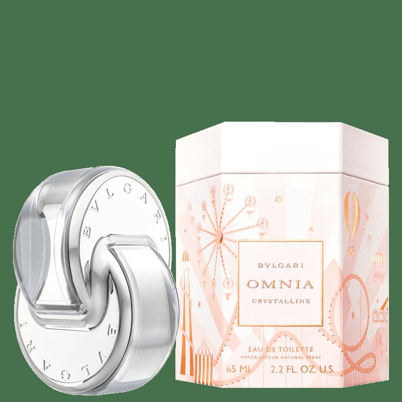 Perfume Omnia Crystalline Omnialand BVLGARI Feminino Eau de Toilette 65ml