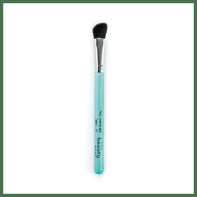 Beautybox E4 Chanfrado Médio - Pincel para Maquiagem