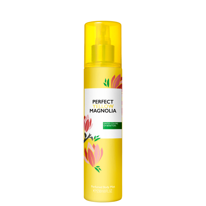 Benetton Perfect Yellow Magnolia - Body Spray 236ml