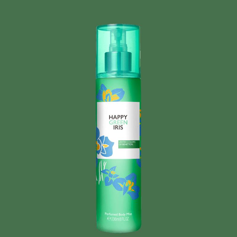 Body Spray Benetton Happy Green Iris 236ml