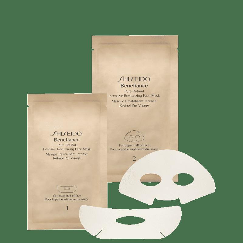 Shiseido Benefiance Pure Retinol - Máscara Anti-Idade (4 unidades)