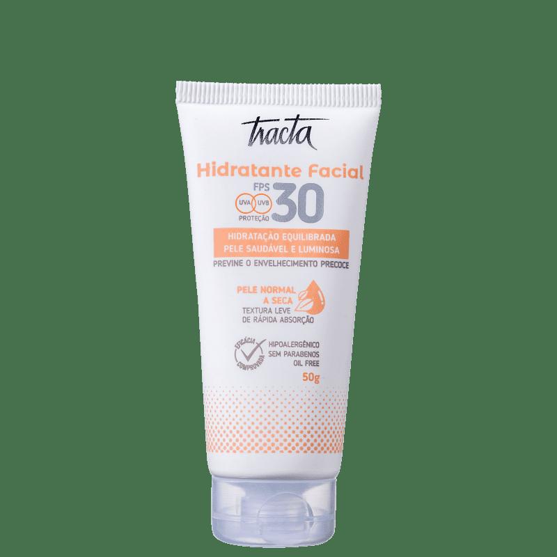 Hidratante Facial Tracta Pele Normal a Seca FPS30 50g