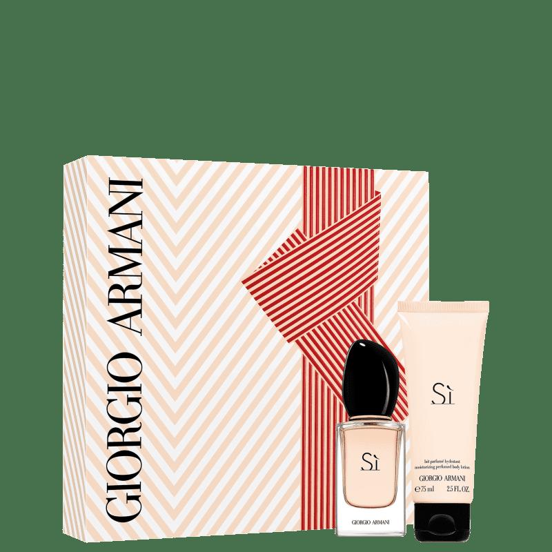 Conjunto Sí Giorgio Armani - Eau de Parfum 30ml + Loção Corporal 75ml