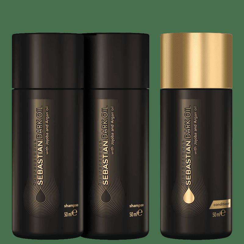 Kit Sebastian Professional Dark Oil Double Wash (3 Produtos)