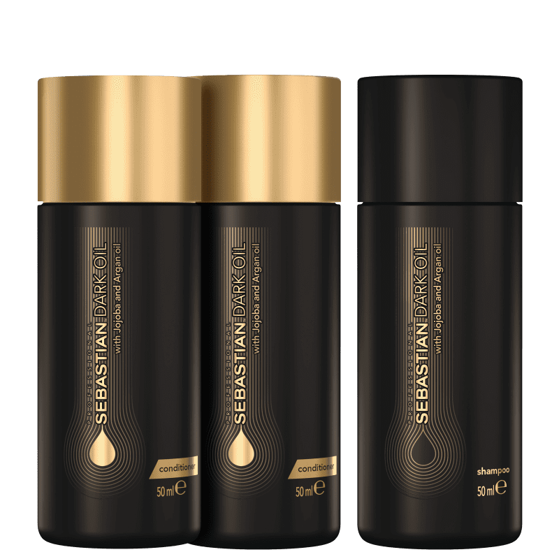 Kit Sebastian Professional Dark Oil Double Treament (3 Produtos)